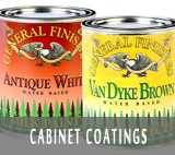 Cabinet Refinishing Paint and Supplies