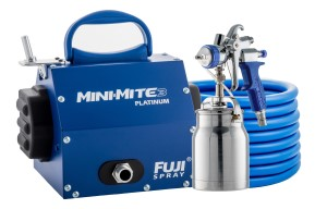 Fuji HVLP Mini-Mite 3 Spray System with Bottom Feed Cup