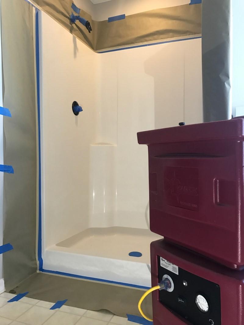 Novair 1000 Portable Air Filtration For Bathtub Refinishing