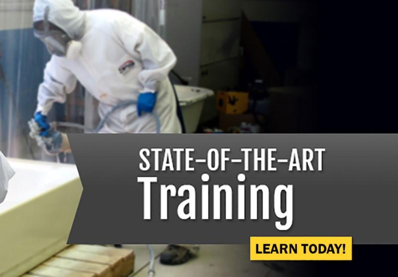 Bathtub, Tile and Countertop Refinishing Training