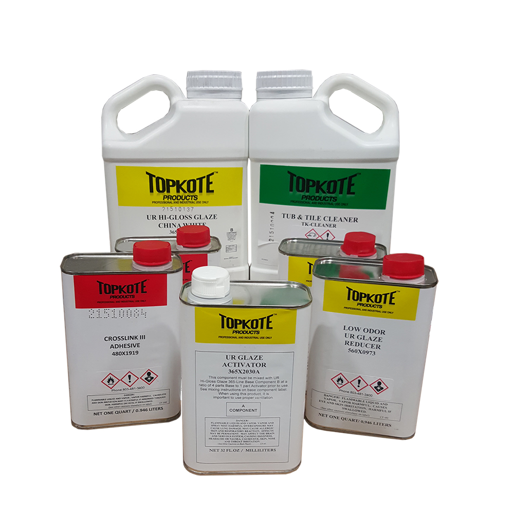 Startup kit for tub and tile refinishing. One time deal for new customers