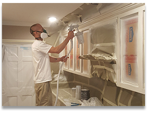 Applying General Finishes Milk Paint Cabinet Paint