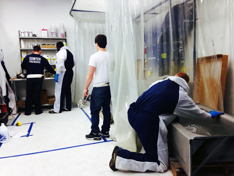 Topkote refinishing training classes